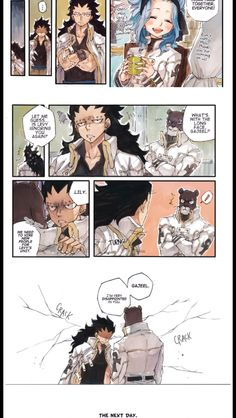 Adventures on the Council part 2 2/3 I have fun torturing Lily with their bs in my comics, forgive me. Levy's unit returned to normal the next day after she found out though. #Gajeel & #Levy