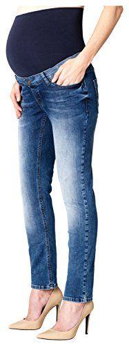 #ESPRIT #Maternity #Damen #Umstands #Jeans #H8C008, #Blau #(Stonewash #930), #34 #(Herstellergröße: #34/32) ESPRIT Maternity Damen Umstands Jeans H8C008, Blau (Stonewash 930), 34 (Herstellergröße: 34/32), , Slim-Fit-Umstandsjeans von Esprit for Mums mit heller Faded-Waschung, verstellbarem Bund und stützendem Jersey-Bauchband., Wählen Sie Ihre gewohnte Konfektionsgrösse, denn diese Umstandsjeans sitzt vom ersten bis zum neunten Monat wie angegossen., Slim, ,