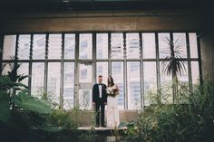 Botanische Stadthochzeit im Gewächshaus | Hochzeitsblog - The Little Wedding Corner