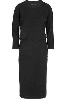 Isabel Marant Deena stretch wool-blend jersey dress | NET-A-PORTER