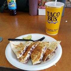 Check Out Taco Bus as seen on Diners, Drive-ins and Dives , Man vs Food Nation on TVFoodMaps