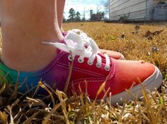 Groovy Tye Dyed Canvas Shoes
