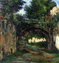 The Athenaeum -CÉZANNE, Paul French Post-Impressionist (1839-1906)_The Vault- 1862-1864