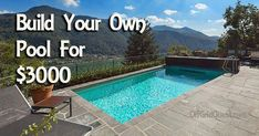 Buy Flowers Online Same Day Delivery This Guy Built His Own In-Ground Pool For With Step-By-Step Instructions And Video Diy Swimming Pool, Diy Pool, Small Backyard Pools, Small Pools, Inground Pool Diy, Pool Decks, Backyard Ideas, Small Inground Pool Cost, Piscina Diy