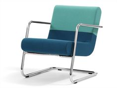 Cantilever armchair with armrests ELLA by Blå Station | design Fredrik Mattson