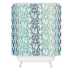 Pattern State Rabbit Run Shower Curtain | DENY Designs Home Accessories