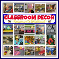 "Classroom Decor: The ""CUTE"" Conversation (RoundUP at RainbowsWithinReach) How important is 'cute' in your classroom?"