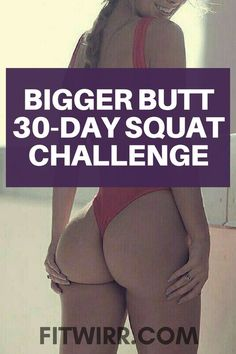 The bigger butt squat challenge. Fitness Motivation, Weight Loss Motivation, Ab Workout At Home, At Home Workouts, Lifting Workouts, Ab Workouts, Fitness Inspiration, 30 Day Squat Challenge, Workout Challenge