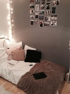 Room colors; - Light grey walls (Almost White) - Dark, chocolate Brown, or Black - Light, blush/dirty Pink