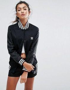 e41b909b38fb RARE adidas Women s FASHION LETTERMAN TRACK JACKET UK10-US6 SMALL LAST 1