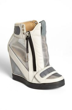 L.A.M.B. 'Stephanie' High Top Wedge Sneaker available at #Nordstrom OMG!!!