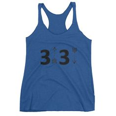 3up3down Ladies Tank Top