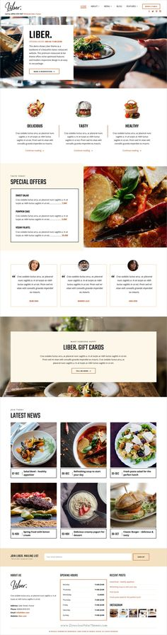 Liber is a premium responsive #WordPress theme optimized for #restaurant, bar and pub websites download now➩ https://themeforest.net/item/liber-ultimate-restaurant-bar-wordpress-theme/19472502?ref=Datasata