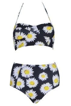 841847faa5de1 11 High Waisted Bathing Suits Gigi Hadid Would Love (And So Will You)