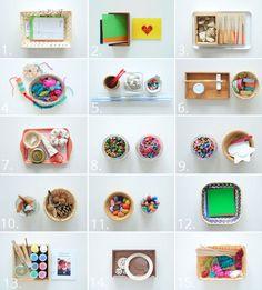 """Es vergeht kein Tag, an dem sie nicht malen, zeichnen oder an etwas basteln würde. Sie liebt ihr kleines """"Atelier"""" und verbringt die meiste Zeit in ihrem Zimmer mit ihren Kunstmaterialien und Handarbe"""