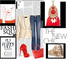"""Red Carnival"" by noharahhal on Polyvore"