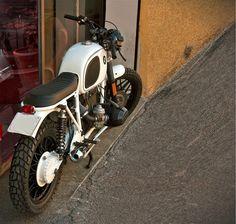 R100 White | Inazuma café racer