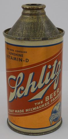 Cone top Schlitz with vitamin D!