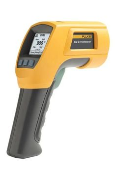 The Fluke 572-2 High-Temperature Infrared Thermometer is the ideal tool for high-temperature industrial environments such as power utility, metal refining and smelting, glass, cement or petrochemical environments