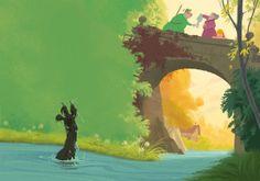 Fairytale books by Wouter Tulp, via Behance