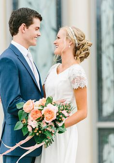 KALLI + TRENT, Photo by Alyssia B, Gown by The Perfect Dress, Flowers by Calie…