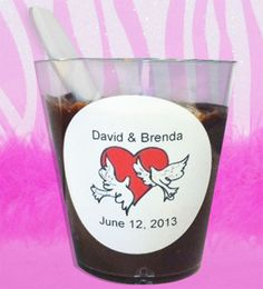 Find Personalized Fudge Shot Wedding Favors at Wholesale Favors, along with other wedding favors and personalized gifts. Unique Party Favors, Inexpensive Wedding Favors, Edible Wedding Favors, Personalized Wedding Favors, Personalized Christmas Gifts, Class Reunion Favors, Anniversary Favors, Wedding Shoot, Wedding Ideas