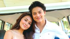 Daniel Padilla stopped Kathryn Bernardo in answering question about live-in relationship. Kapamilya stars Daniel Padilla and Kathryn Bernardo Kathryn Bernardo Hairstyle, Fangirl Movie, Coconut Oil Tea, B&w Wallpaper, Beauty Hacks With Coconut Oil, Salon Quotes, Cant Help Falling In Love, Daniel Padilla