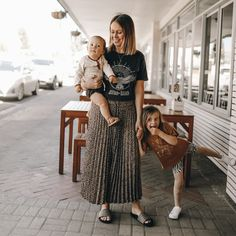 Look at this babe rocking one of our top faves... the KING.KIND stonewash black tee.  . We are loving this effortlessly cool outfit. There are literally so many ways to style a tee with so many outfits. . Would you guys like to see some styling videos/ideas on how we mix up our tees with other clothes? Kids Outfits, Cool Outfits, Jumper, Onesies, Babe, That Look, King, Guys, Videos