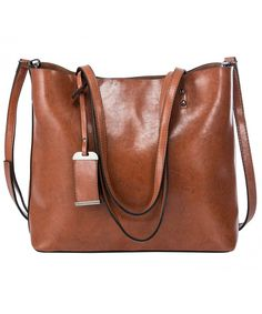 93183f448bc9 Women Top Handle Satchel Handbags Shoulder Bag Messenger Tote Bag Purse -  Brown - CQ1895AOCQH