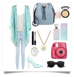 A fashion look from May 2016 featuring floral tops, cami tank and distressed jeans. Browse and shop related looks. Shoe Dazzle, Essie, New Look, Calvin Klein, Kate Spade, Gucci, Polyvore, Stuff To Buy, Shopping