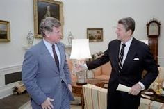 """Reagan gave his famous """"Tear down this wall"""" speech in 1987.  Two years later in 1989, the Berlin Wall was torn down and two years after that, the Soviet Union collapsed."""