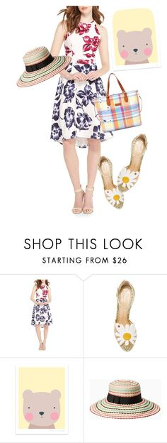 """dress"" by masayuki4499 ❤ liked on Polyvore featuring Maggy London, Charlotte Olympia, Kate Spade and Ralph Lauren"