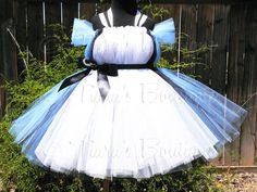 Sewn Belted Tutu Dress w/ Apron Look  up to 5T and by TiarasTutus, $80.00