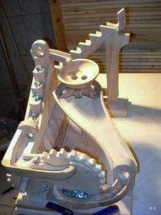 "Ryszard's ""marble machine 3"" in pictures"