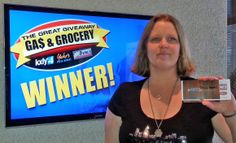 Congratulations to Tricia Adams for winning $100 in The Great Gas & Grocery Giveaway from KXLY4, Divine's & Yokes!