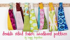 Free Headband Pattern by ohsohappytogether, via Flickr