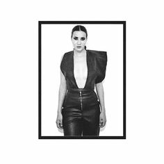 FRANCISCO FÉLIX ®  #felixdefinitivecollection #leather #blackleather #allleatherlook
