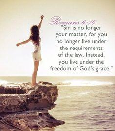 Live under grace
