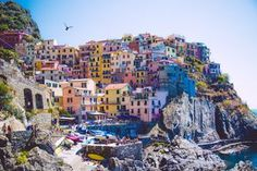 The Cinque Terre (or 5 Lands) are a little gem to visit in Italy. We are … – Travel and Tourism Trends 2019 Italy Vacation, Italy Travel, Travel Around The World, Around The Worlds, Voyage Rome, Portofino Italy, Cinque Terre Italy, Photos Voyages, Riomaggiore
