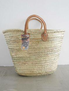 Rieten tas open gevlochten - tassen en manden van riet ...