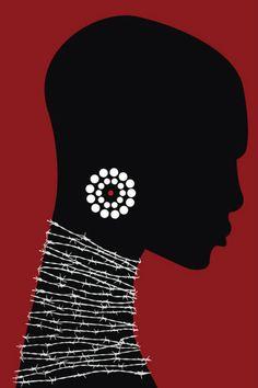 Ideas For Black Art Afro African Americans Illustrations Black Art, Black Women Art, Black Girls, Red Black, Art Women, Afrique Art, African Art Paintings, African Artwork, African American Art