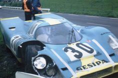 Jürgen Neuhaus / Helmut Kelleners - Porsche 917K - Gesipa Racing Team - Grand Prix de Spa - Spa 1000 Kilometres - 1970 International Championship for Makes, round 6