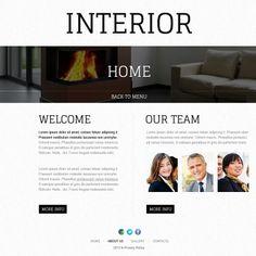 Interior Design  Website Theme