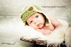 Flyer Hat Newborn Baby Photo prop
