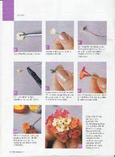 Visita la entrada para saber más Clay Crafts, Clay Art, Blog, Floral, Flowers, Pasta, Tutorial, Magazines, China