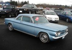 Chevrolet Corvair - My first new car