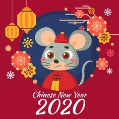Free Chinese New Year 2020 Animal Images - Best Chinese New Year Printables images in 2020 - lunar new year picture - Chinese new year cards 2020