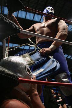 Blue Demon vs El Santo