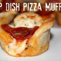 ~Deep Dish Pizza Muffins!