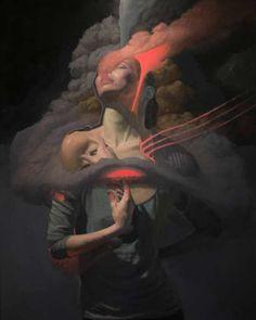 The Dreamlike Figures of Lukifer Aurelius | Hi-Fructose Magazine
